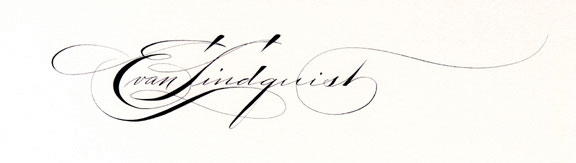 Evan Lindquist signature